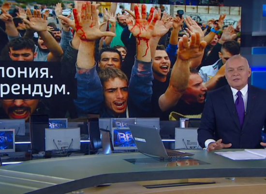 Russian TV's view on Catalonia referendum: Europe falling apart and Spain compared to Ukraine