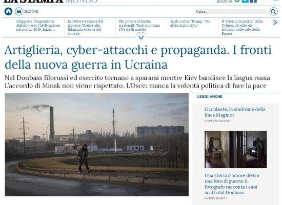 Misinformation de La Stampa di Torino