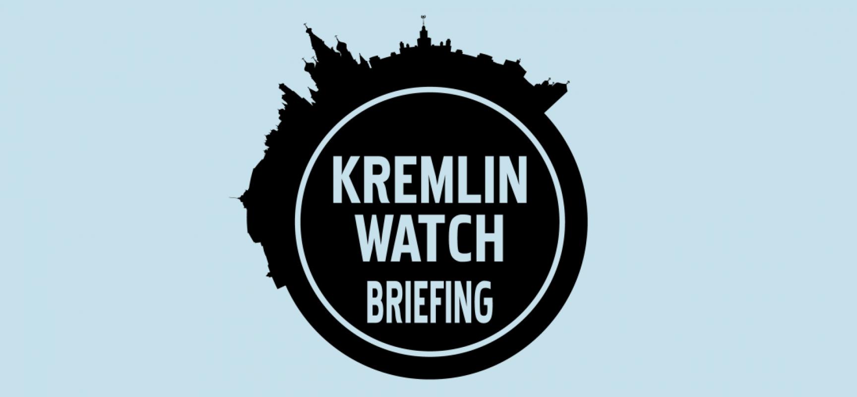 Kremlin Watch Briefing, October 24, 2017