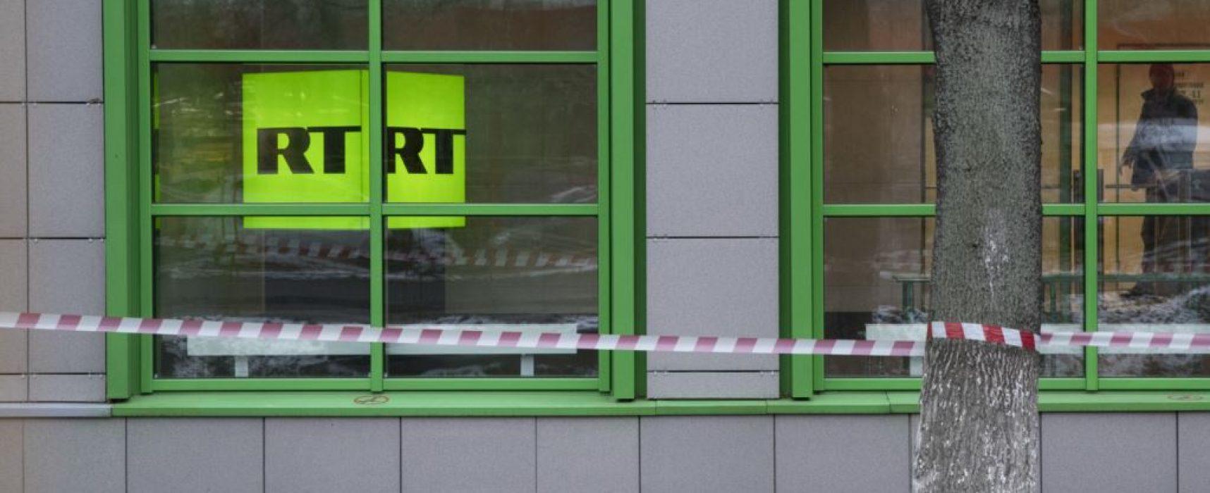 RT утверждает, что от него требуют регистрации как иноагента до 13 ноября