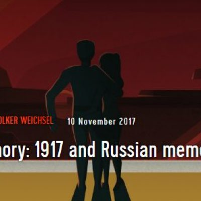 State memory: 1917 and Russian memory politics