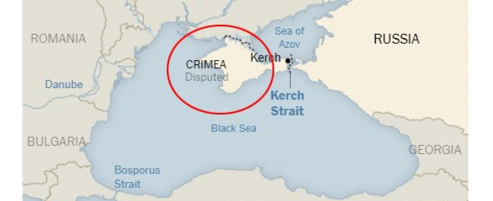 В США призывают New York Times исправить статью со «спорным» Крымом