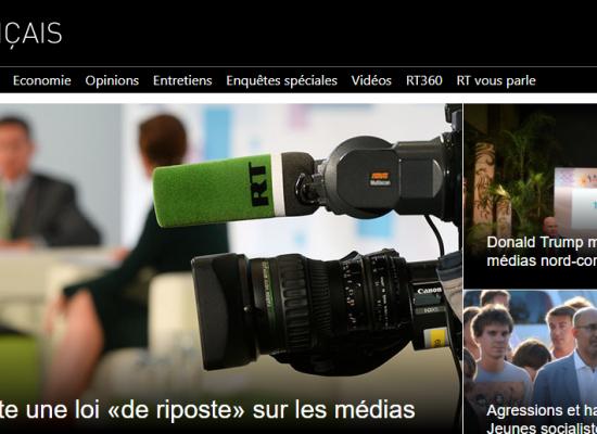 Faut-il avoir peur de RT (Russia Today) en français ?