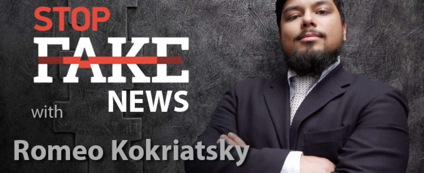 StopFake #156 [ENG] mit Romeo Kokriatsky