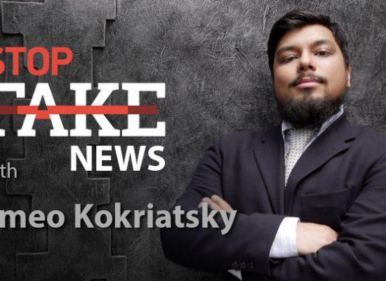 StopFake #156 [ENG] con Romeo Kokriatsky