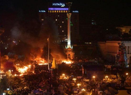 """Fake: Ital. CANAL 5: """"Georgische Scharfschützen gestehen"""" – Ukr. Opposition verantwortlich für Maidan-Schüsse"""