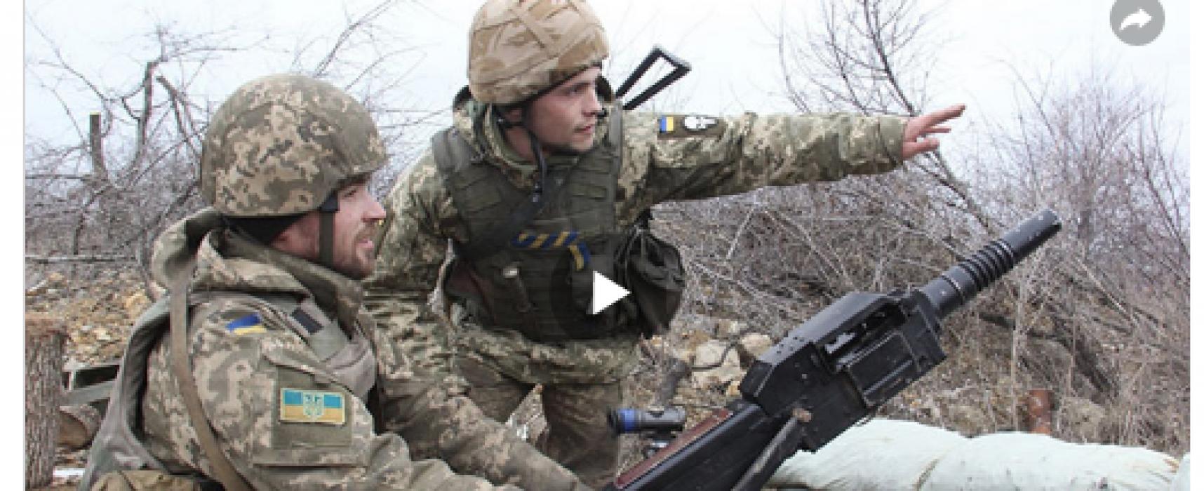 Fake: Ukrainische Armee feuert auf Dorf in der Nähe des Gefangenenaustauschs
