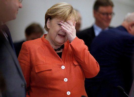 "Attempt No 2. Russian propaganda seeking to ""dismiss"" Angela Merkel again"