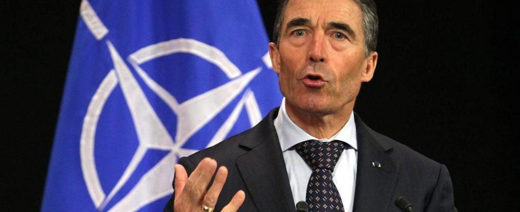 Rasmussen: Putin vuole utilizzare l'Italia per dividere l'Unione e abbattere le sanzioni