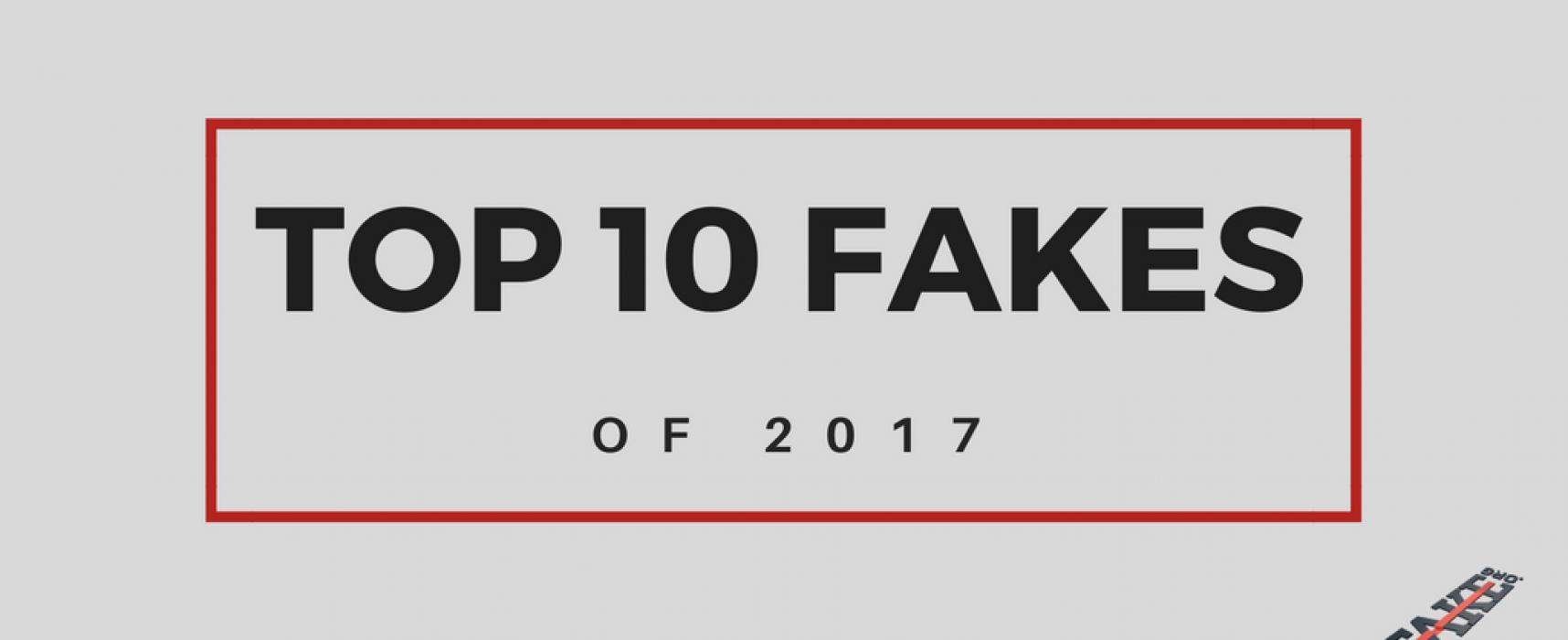 TOP 10 nepravdivých zpráv roku 2017