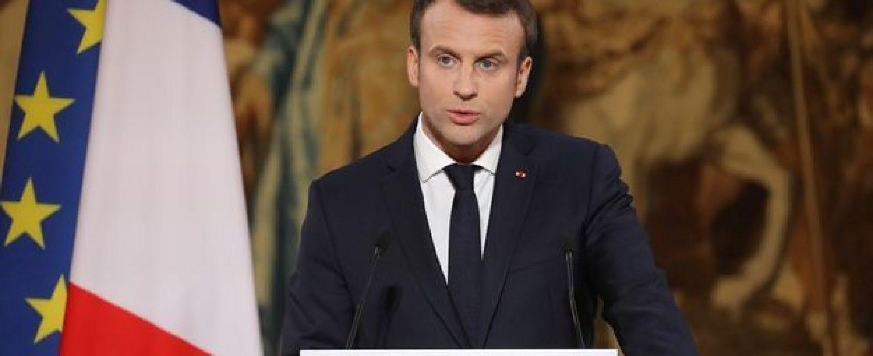 El presidente francés inicia una ley para contrarrestar noticias falsas