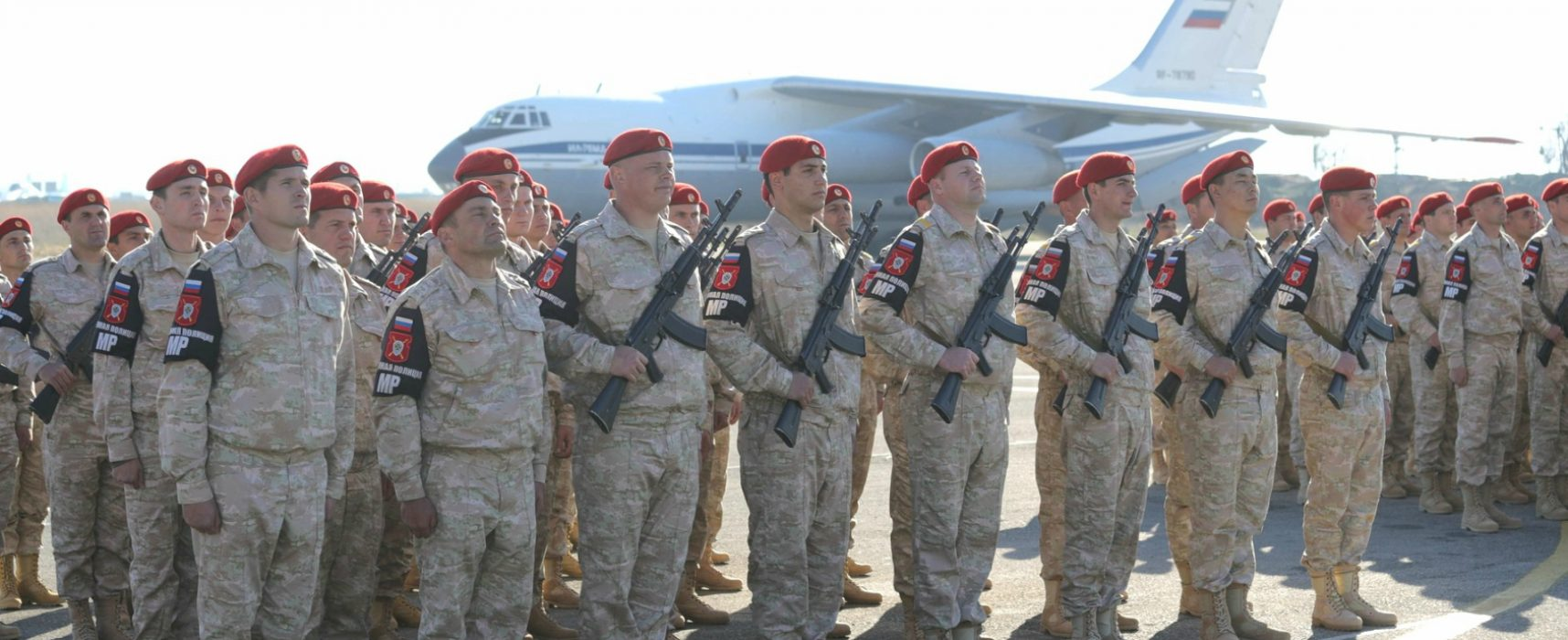 Moscow links Syria to WWII