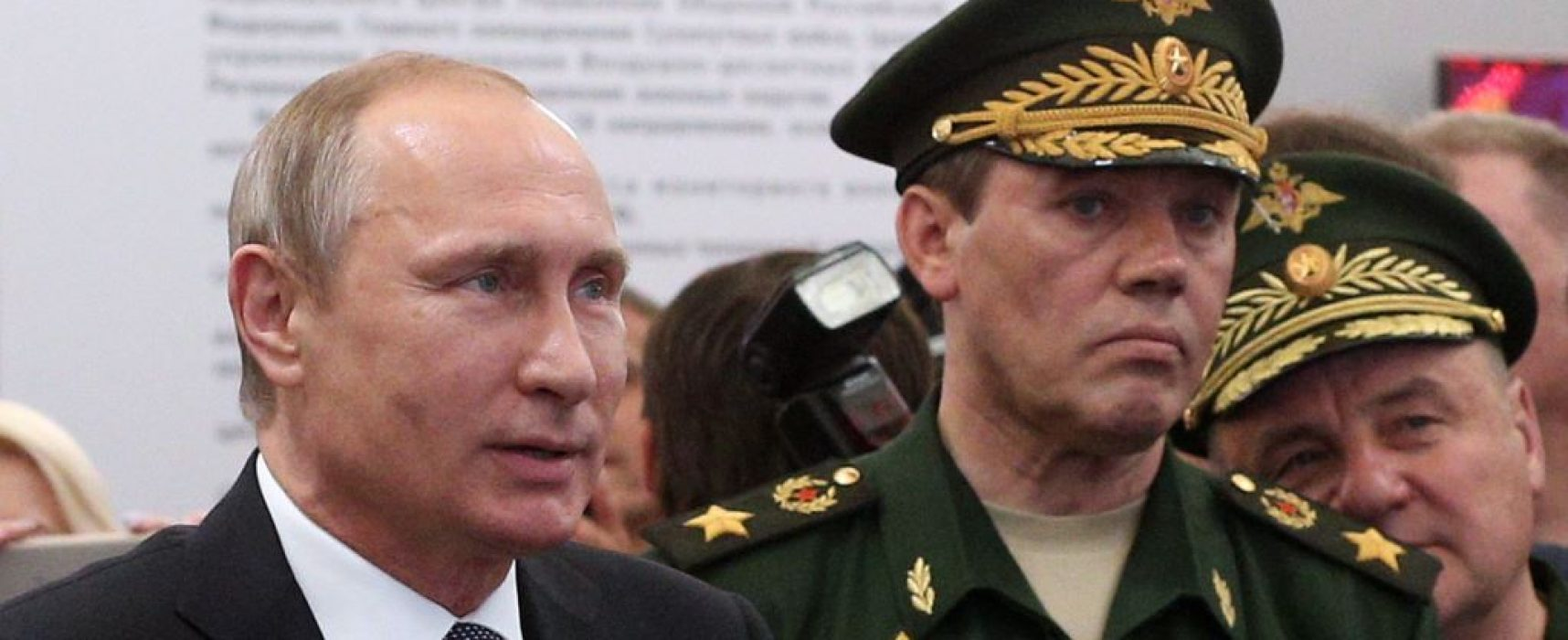 Top Russian general speaks about Syrian war, repeats debunked claims