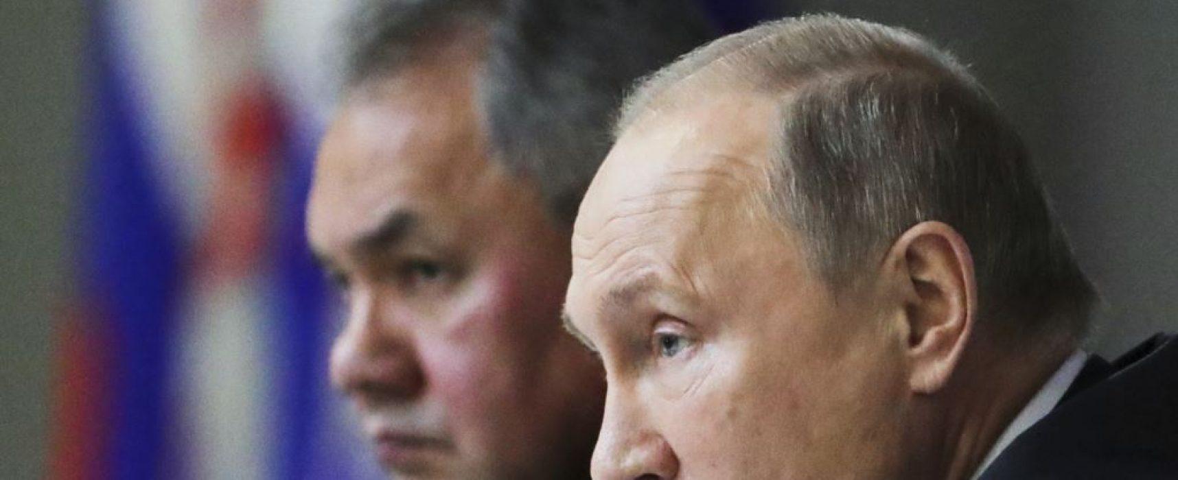 Shoigu: NATO is massing troops along Russia's western borders