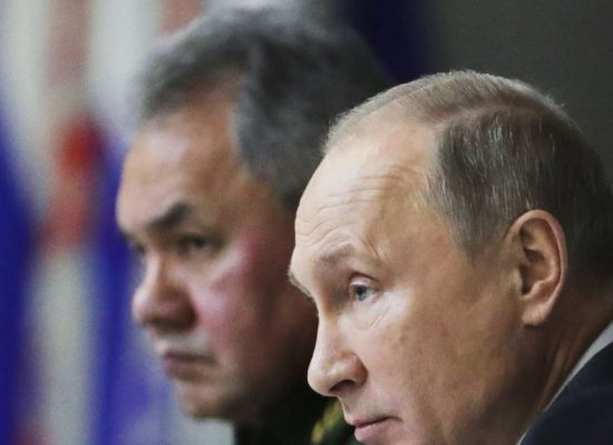 Shoigu: NATO is massing troops along Russia's western borders