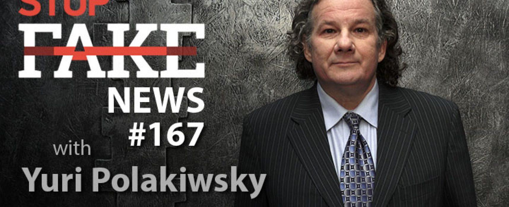 StopFake #167 [ENG] with Yuri Polakiwsky
