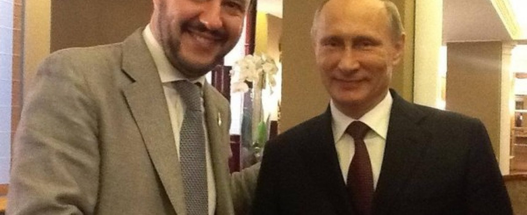 "Soros: ""Rapporto stretto Salvini-Putin"""
