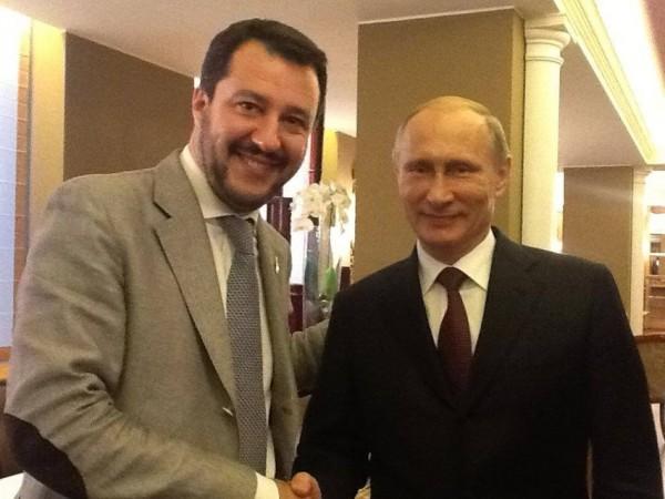 Salvini e Putin