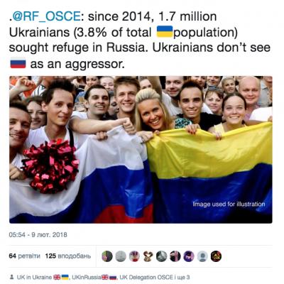 Fake: 1,7 milioni di ucraini hanno chiesto asilo in Russia a partire dal 2014