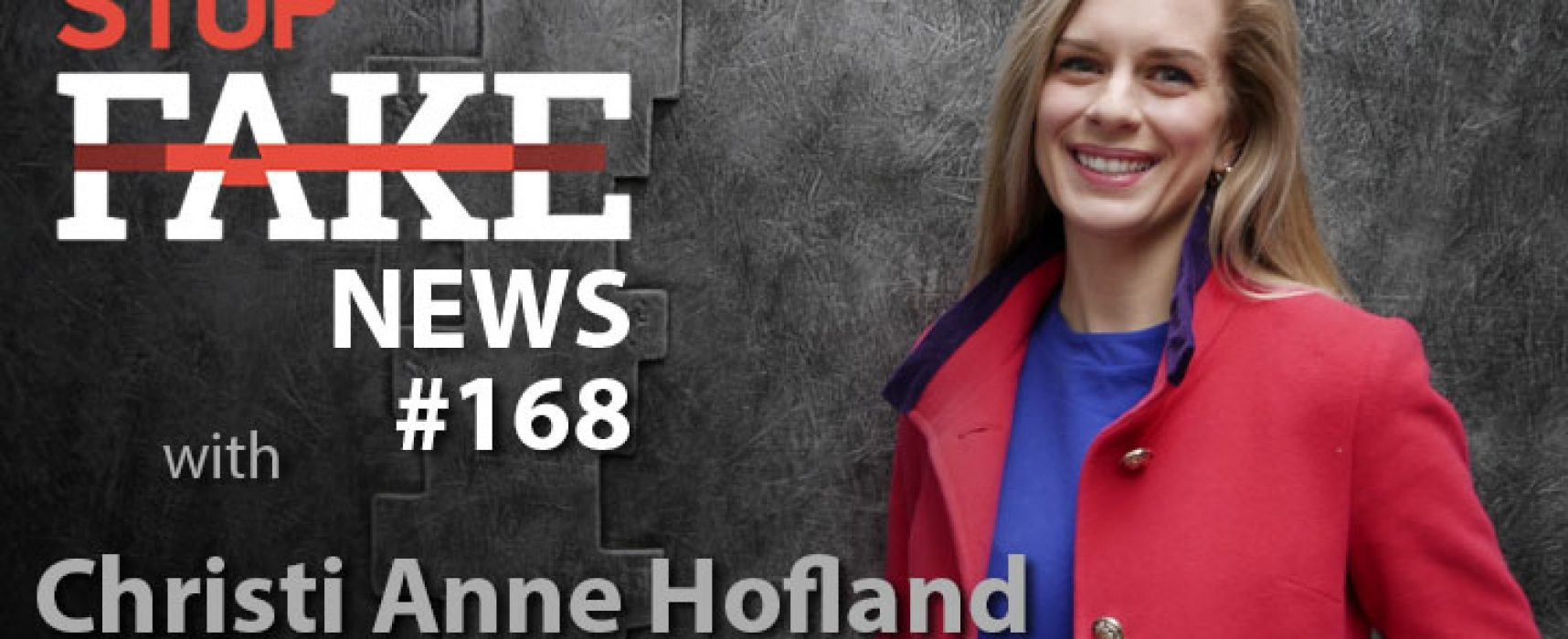StopFake #169 [ENG] with Christi Anne Hofland