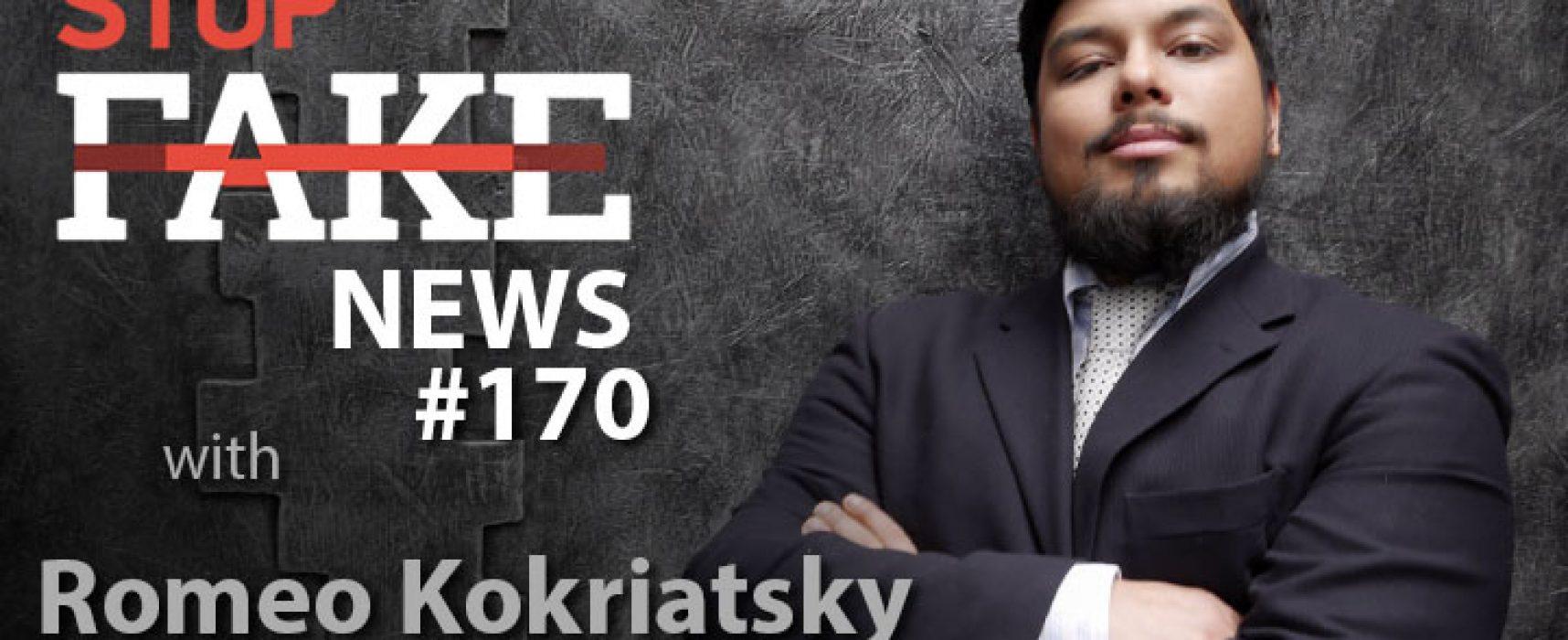 StopFake #170 [ENG] with Romeo Kokriatsky