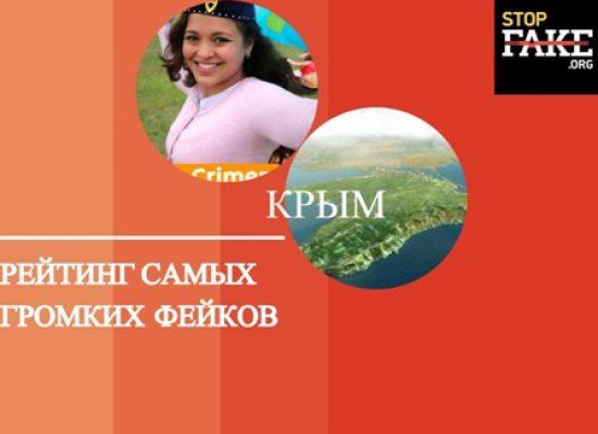 Рейтинг на най-гръмките фейкове за окупирания Крим