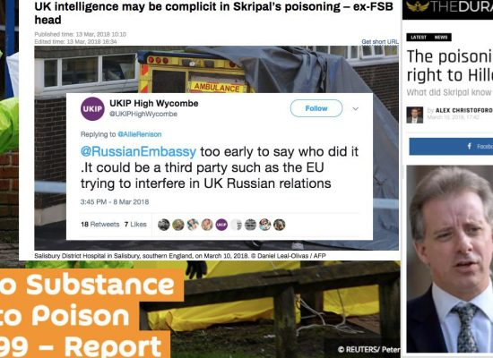 Skripal Poisoning: If Not Russia, Then…:The many theories of who used a Russian nerve agent in England