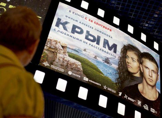 Ruský První kanál promítne film Krym v den, kdy je zakázáno agitovat