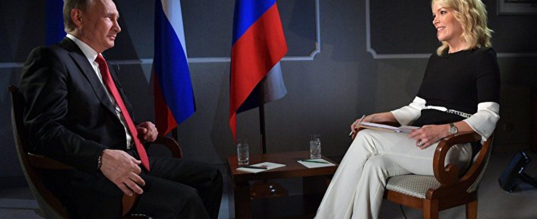«Может, там не русские, а украинцы и евреи». 7 фейков Путина из интервью Мегин Келли