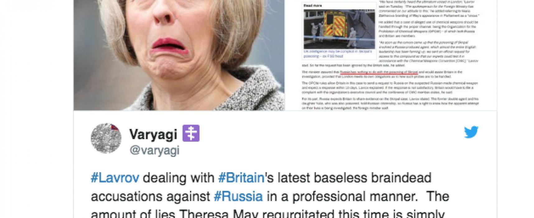 #PutinAtWar: Ruská trollí diplomacie