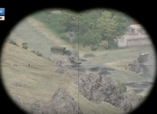 """Zrzut ekranowy z gry """"Arma 3"""" jako ilustracja doniesień z Syrii"""