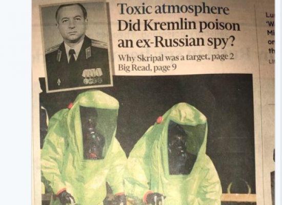 Taktiky ruské propagandy v kauze otravy bývalého špiona Sergeje Skripala