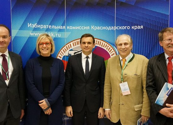 Kremlin-friendly election observers from Europe and US at the presidential elections in Russia, March 2018