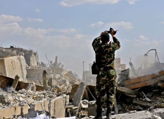 Cирийская «истерия»: как Россия нагнетает в Крыму страхи о ядерной войне
