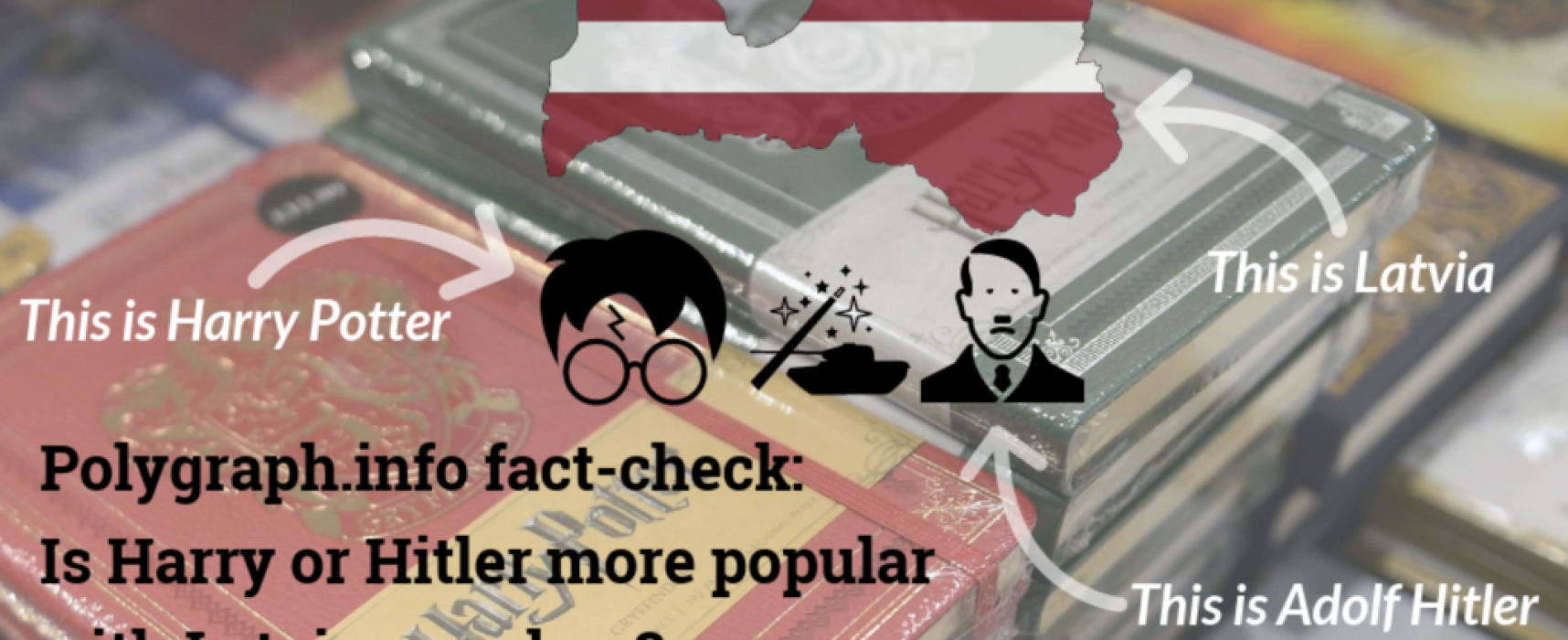 Sputnik a Zvezda tvrdí, že v Lotyšsku je populárnější Hitlerův Mein Kampf než Harry Potter
