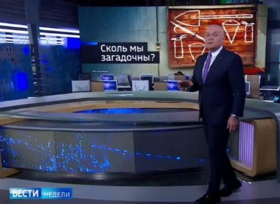 Телепропаганда. Апрель 2018