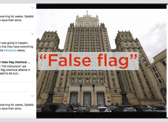"#PutinAtWar: Rechtsextreme Konvergenz bei ""False-Flag-Operation"" in Syrien"