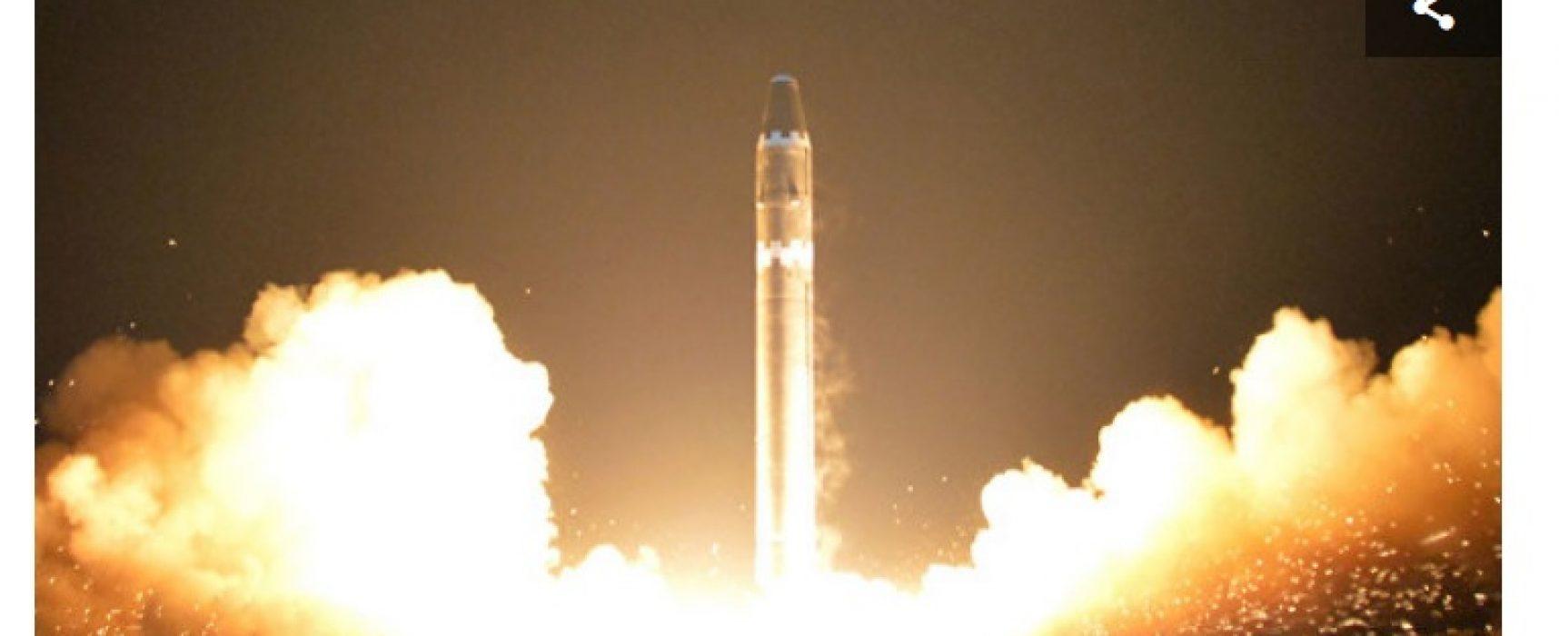 Фейк: Київ підтвердив наявність українських елементів у двигунах ракет КНДР