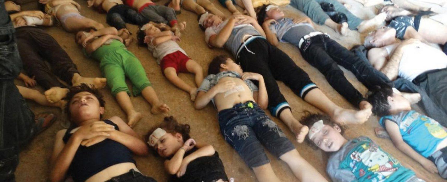 Las mentiras de la TV rusa sobre el ataque químico de Siria