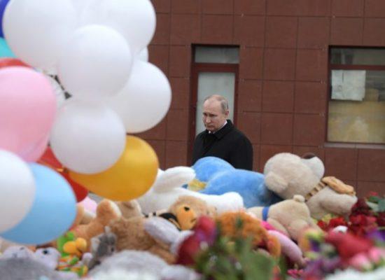Tras fatal incendio en Rusia, insensibilidad oficial y troleo en línea generan indignación