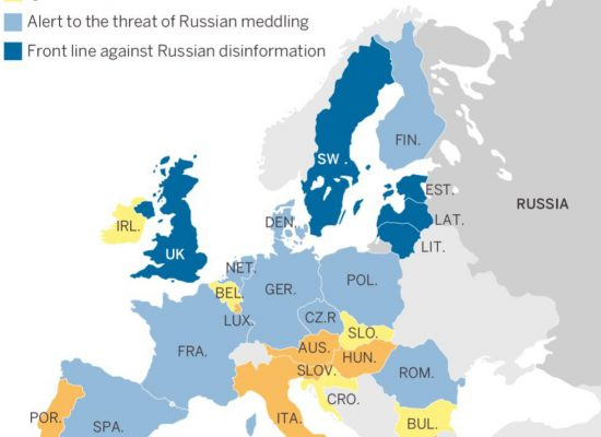 Which European democracies are best combating Russian disinformation?