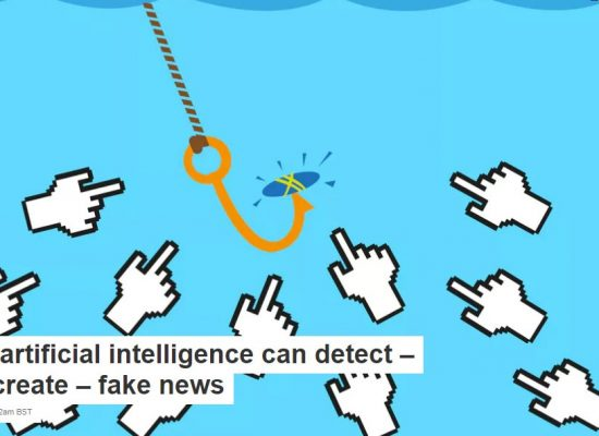 How artificial intelligence can detect – and create – fake news