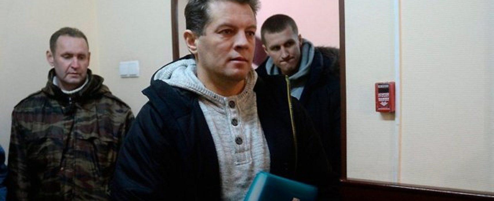 Ucrania exige ante la ONU que Rusia libere inmediatamente al periodista Súshchenko