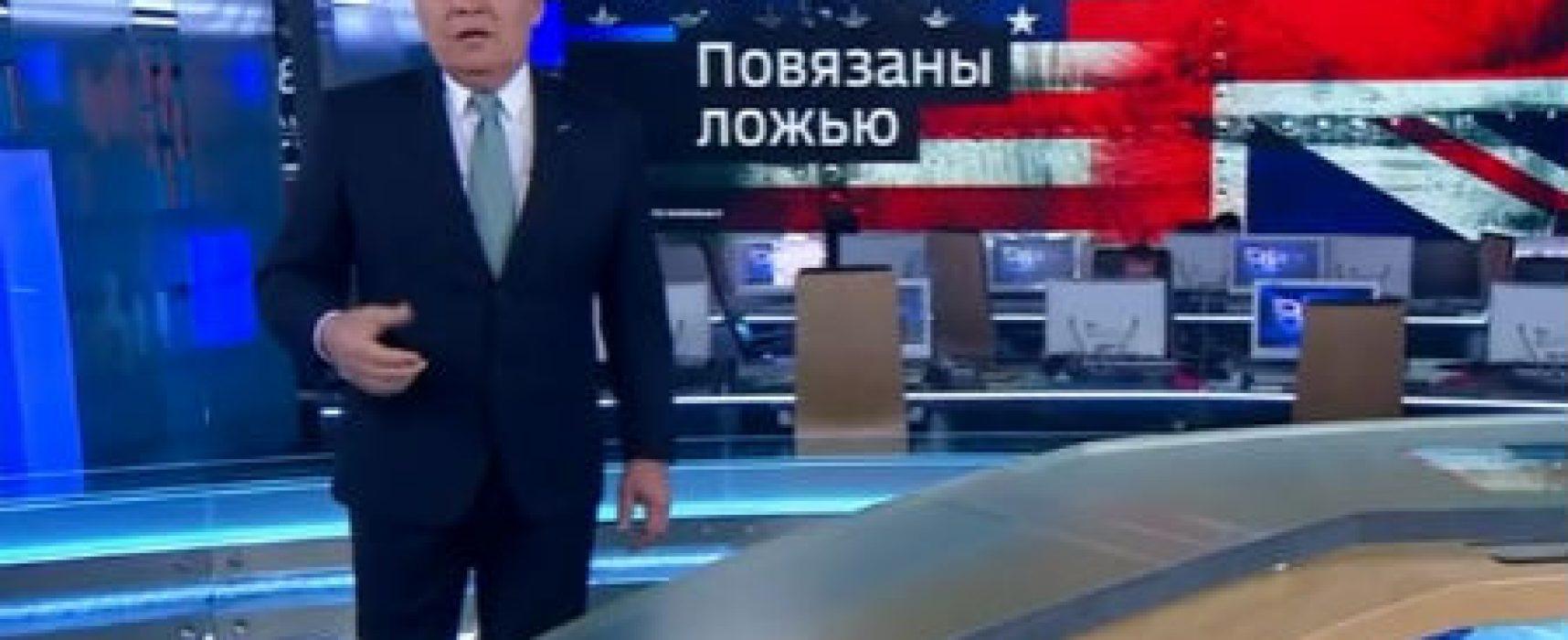 Телепропаганда. Апрель-май 2018