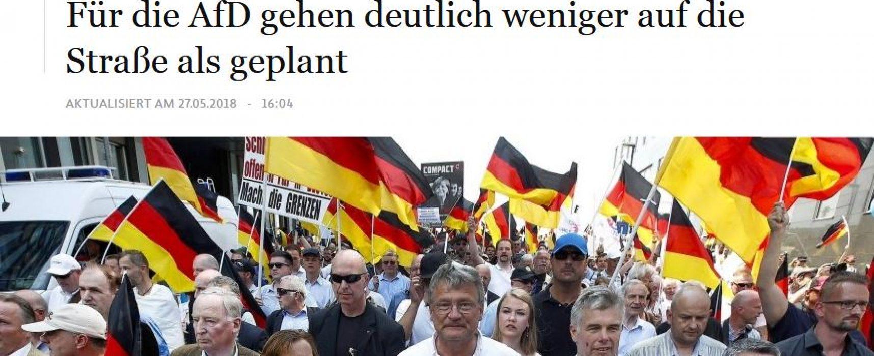 Manipulativ: Mehr als 25.000 Menschen haben in Berlin gegen Migranten demonstriert