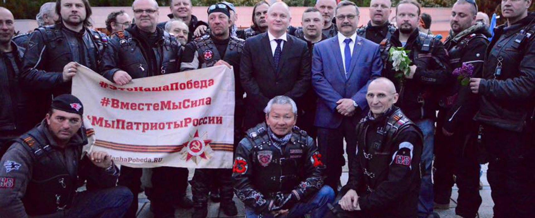 Noční vlci s lepkavou polevou ruské propagandy