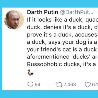 Кто такой Darth Putin?