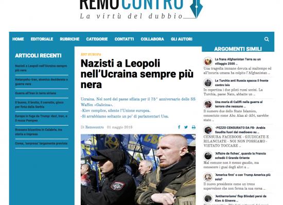 Fake : Sfilata a Leopoli di neonazisti