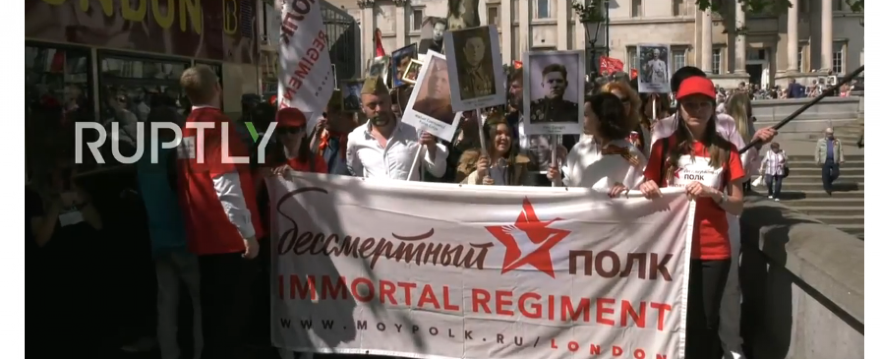 Immortal Regiment marches are a festival of the grotesque