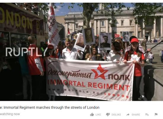 Lo grotesco de las marchas del Regimiento Inmortal dedicadas a la victoria soviética en la Segunda Guerra Mundial